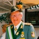 Ehemaliger Bezirksbundesmeister Heinz Kemper